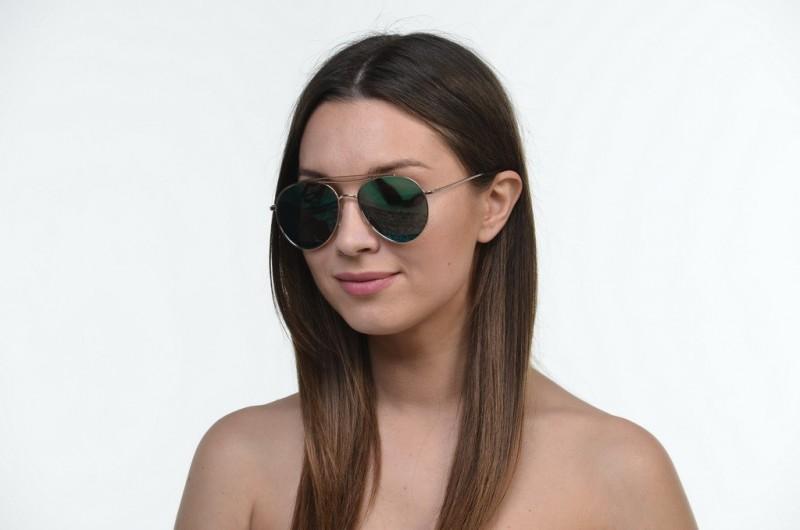Женские очки 2021 года 17052green, фото 2