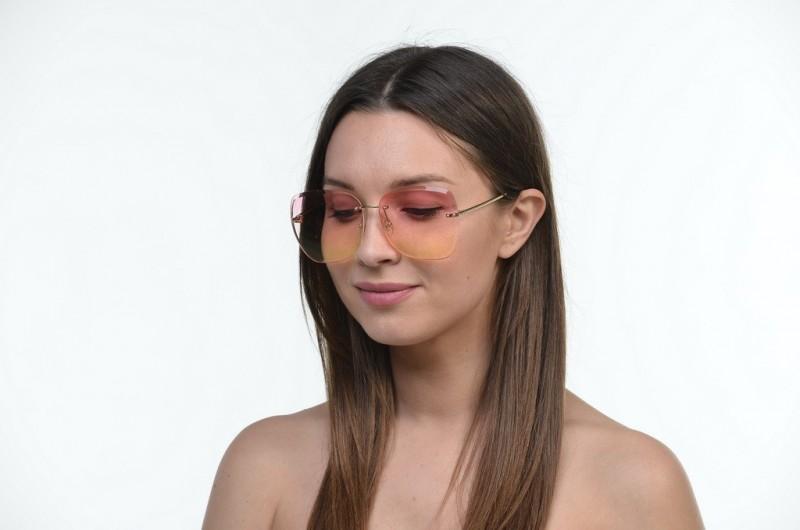 Женские классические очки 6086pink, фото 3