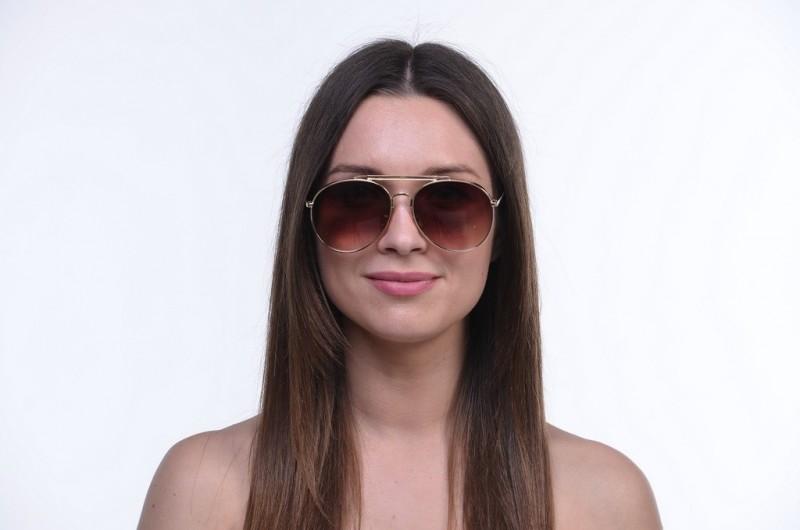 Женские очки 2020 года 1649brown, фото 4