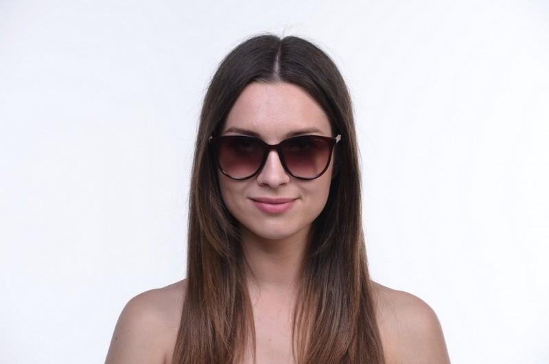 Женские классические очки 11303brown, фото 4