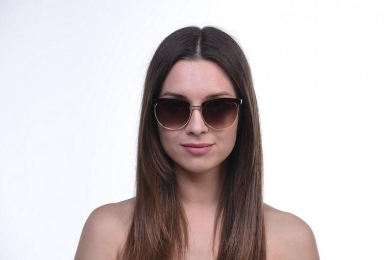 Женские классические очки 1513brown, фото 4