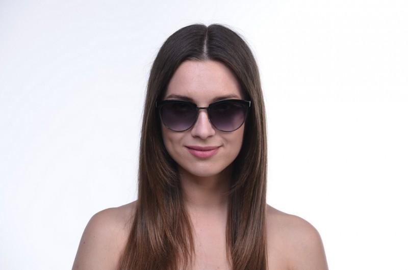 Женские классические очки 1513black, фото 3