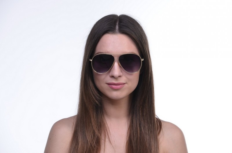 Женские очки капли 18025b-g, фото 4