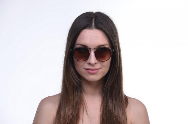Женские очки 2020 года 17048brown, фото 3