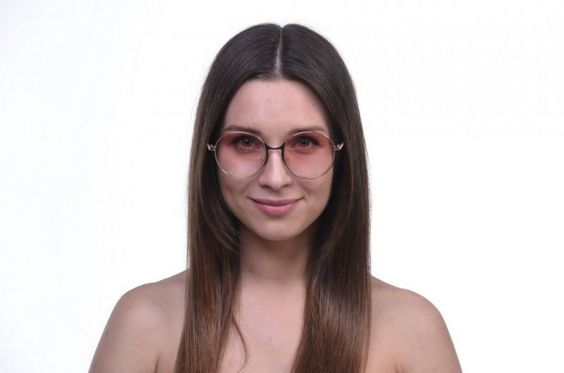 Женские очки 2021 года 17058peach, фото 3