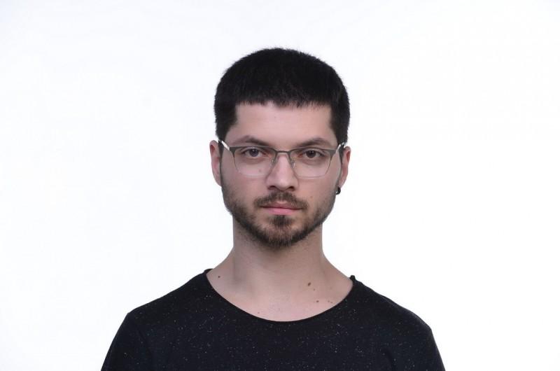 Очки для компьютера 2868silver, фото 5
