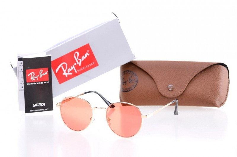 Ray Ban Round Metal 8144orange, фото 30