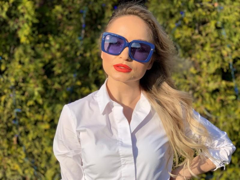 Женские очки Gucci 0216-002, фото 6