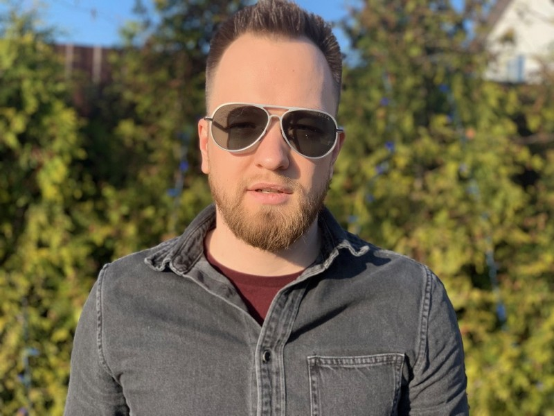 Мужские очки Grandmaster Five dita-bl, фото 6