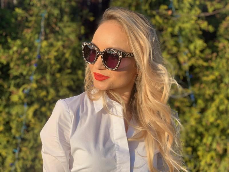 Женские очки Gucci 0116-002, фото 6