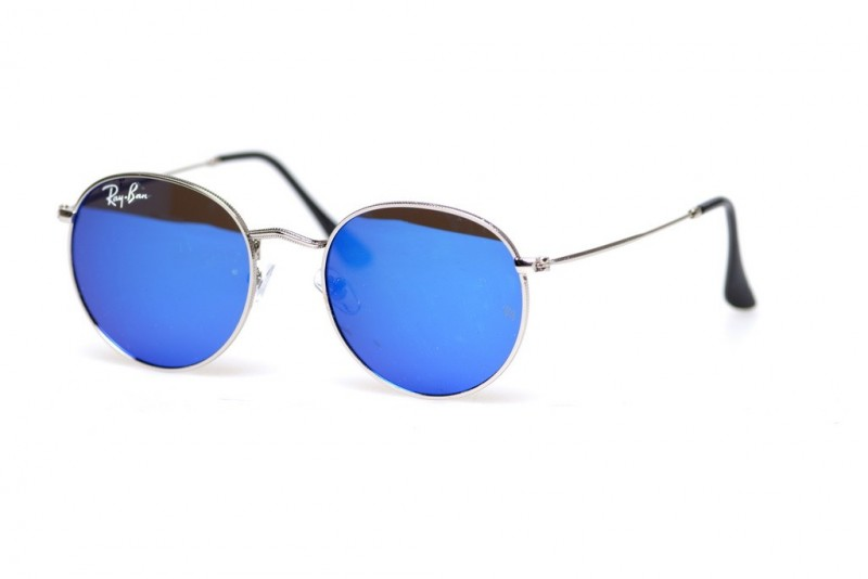 Ray Ban Round Metal 6002-blue, фото 1