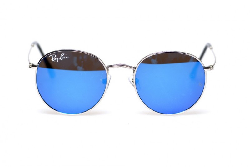 Ray Ban Round Metal 6002-blue, фото 2