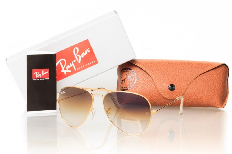 Ray Ban Original 3026Gold, фото 30