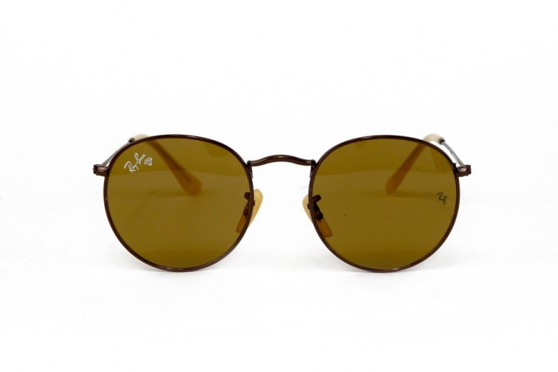 Ray Ban Round Metal 3447-brown-br, фото 2