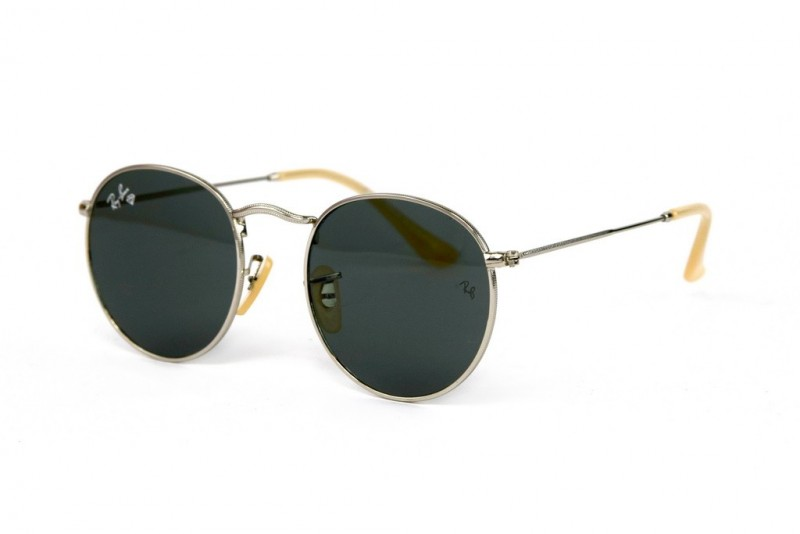 Ray Ban Round Metal 3447-black-s, фото 1