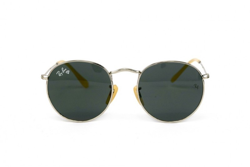 Ray Ban Round Metal 3447-black-s, фото 2
