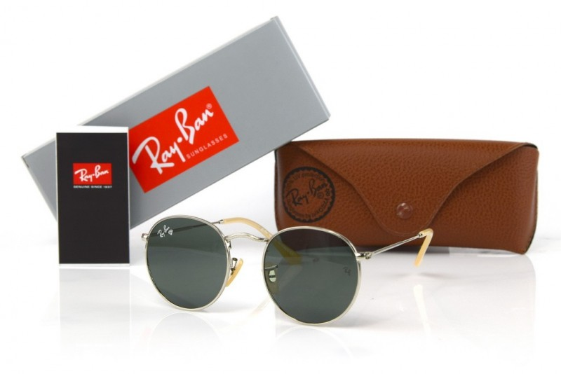 Ray Ban Round Metal 3447-black-s, фото 30