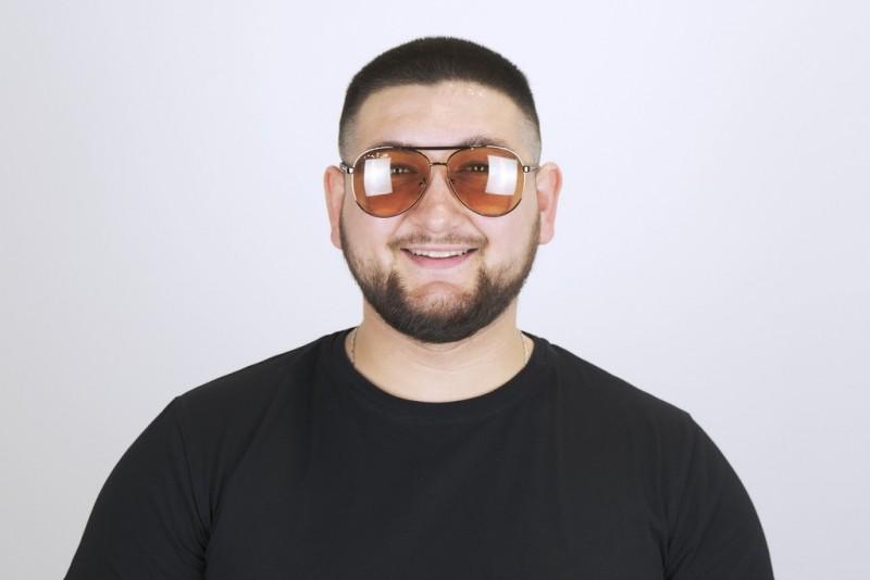 Мужские очки хамелеоны 8434-с2, фото 3