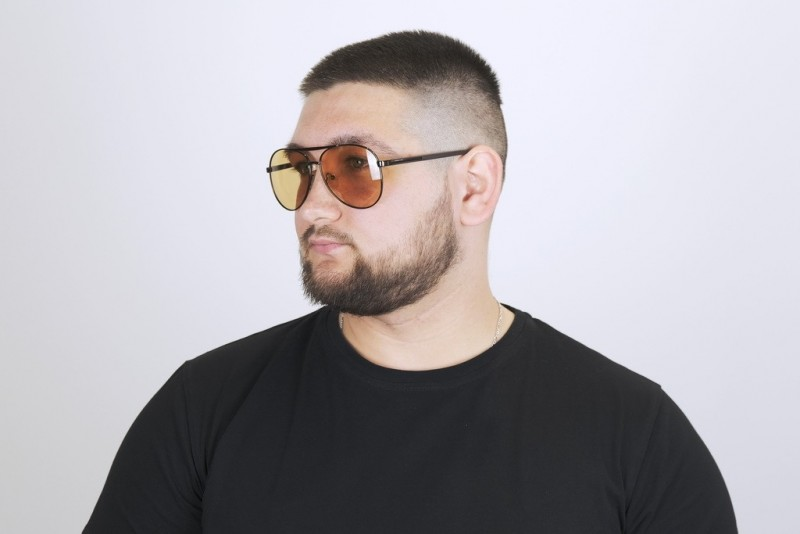 Мужские очки хамелеоны 8434-с2, фото 4