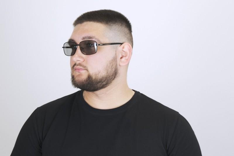 Мужские очки хамелеоны 8437-с1, фото 4