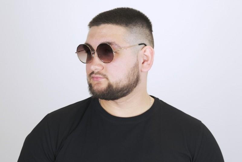 Мужские очки  2021 года 7039-brown-M, фото 4