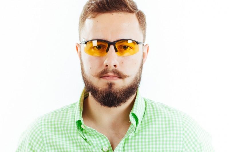 Водительские очки S01BM yellow, фото 3