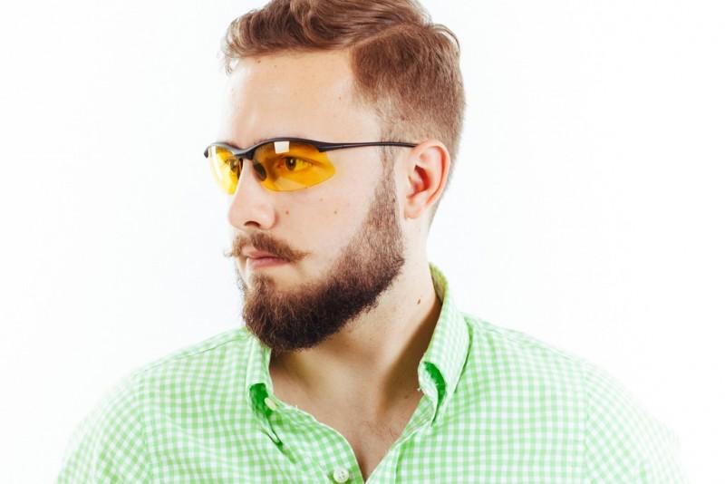 Водительские очки S01BM yellow, фото 4