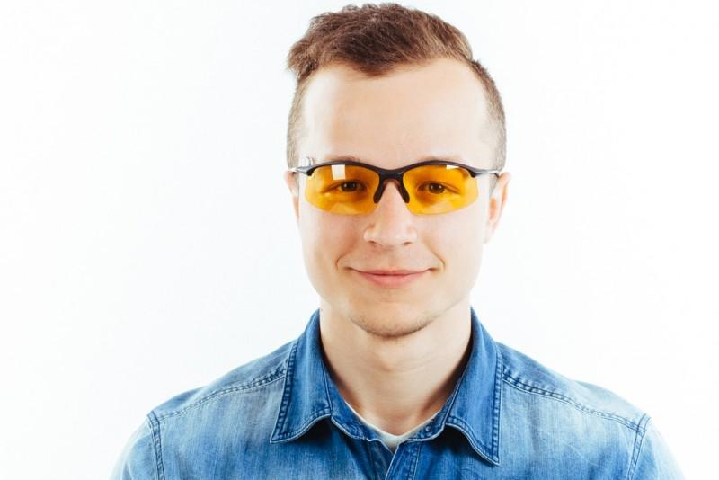 Водительские очки S01BM yellow, фото 5