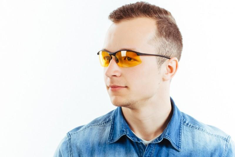 Водительские очки S01BM yellow, фото 6