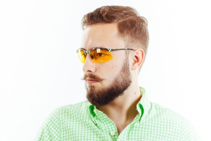 Водительские очки S01KG yellow, фото 4