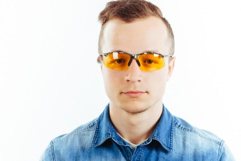 Водительские очки S01KG yellow, фото 5