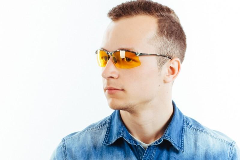 Водительские очки S01KG yellow, фото 6