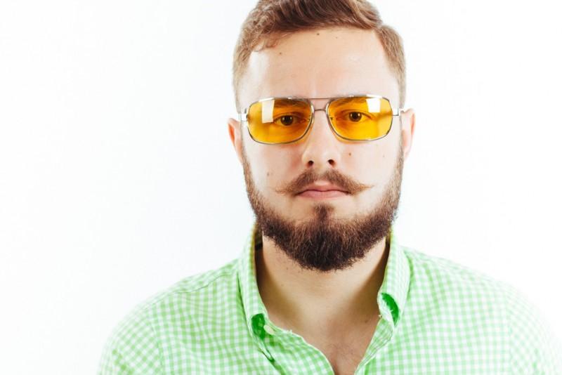 Водительские очки K01 yellow, фото 3