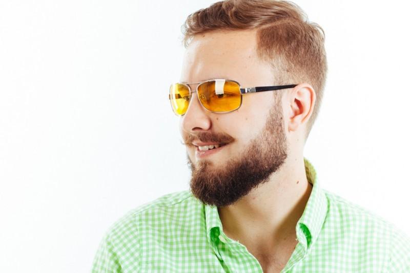Водительские очки K01 yellow, фото 4