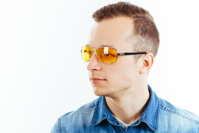 Водительские очки K01 yellow, фото 6