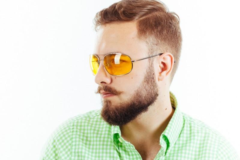 Водительские очки K03 yellow, фото 4