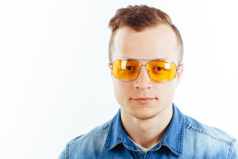 Водительские очки K03 yellow, фото 5