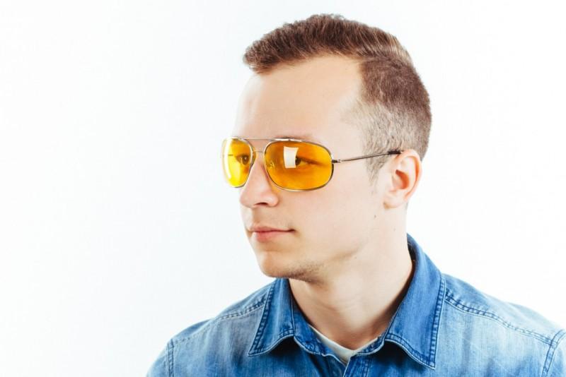 Водительские очки K03 yellow, фото 6