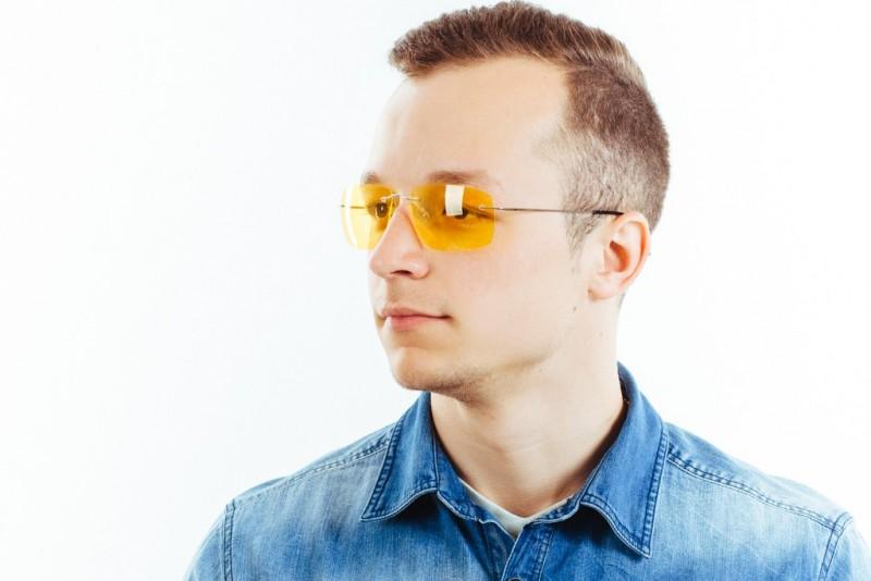 Водительские очки L02 yellow, фото 6