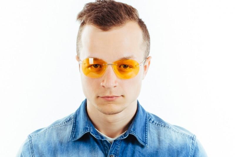 Водительские очки L03 yellow, фото 5