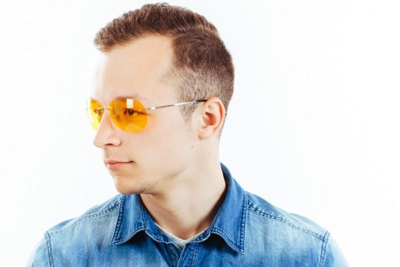 Водительские очки L03 yellow, фото 6
