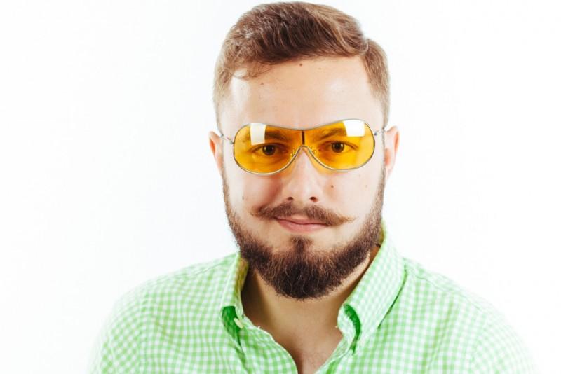Водительские очки M01 yellow, фото 3