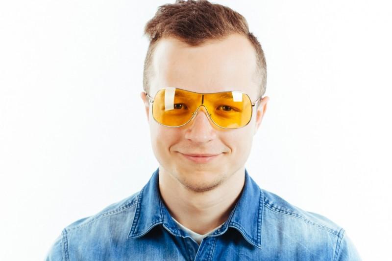 Водительские очки M02 yellow, фото 5
