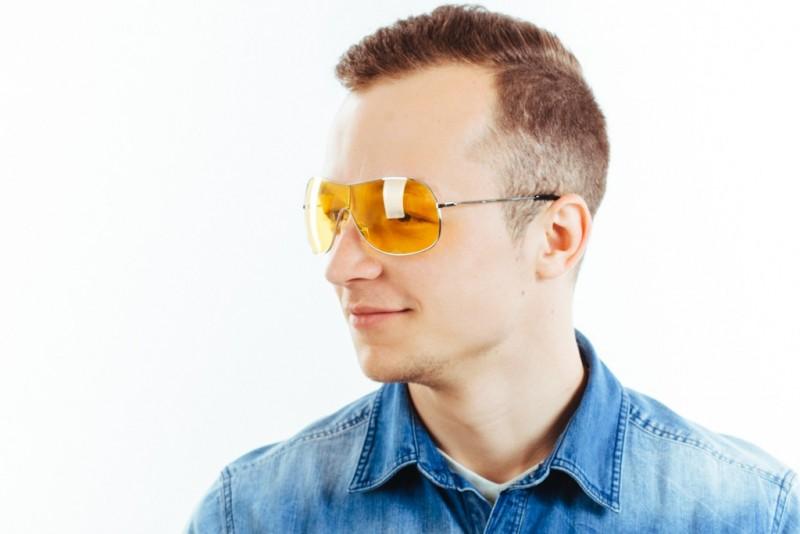 Водительские очки M02 yellow, фото 6