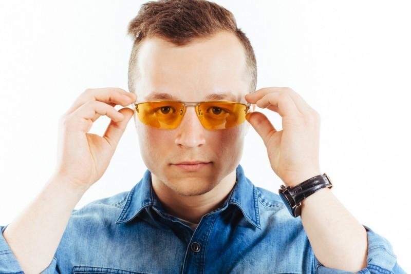 Водительские очки CF507 yellow, фото 5