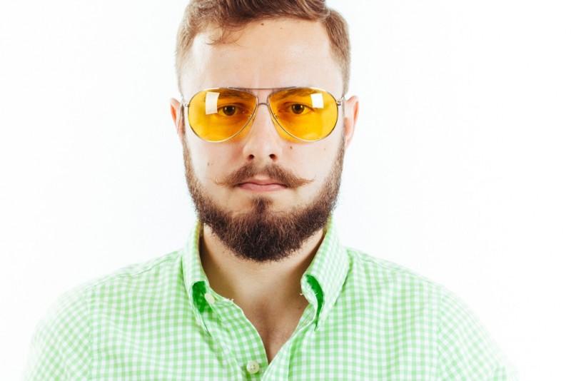 Водительские очки CF904 yellow, фото 3