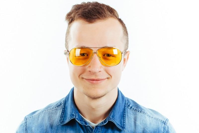 Водительские очки CF904 yellow, фото 5