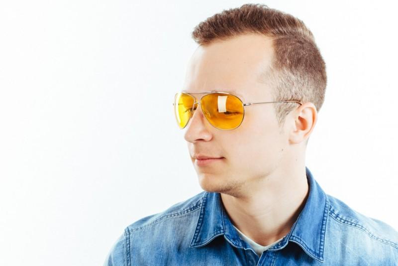 Водительские очки CF904 yellow, фото 6