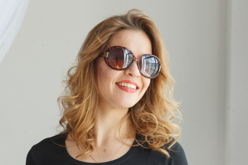 Женские классические очки 9934c1, фото 4