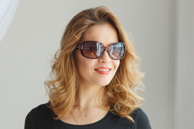 Женские классические очки 9930c1, фото 4